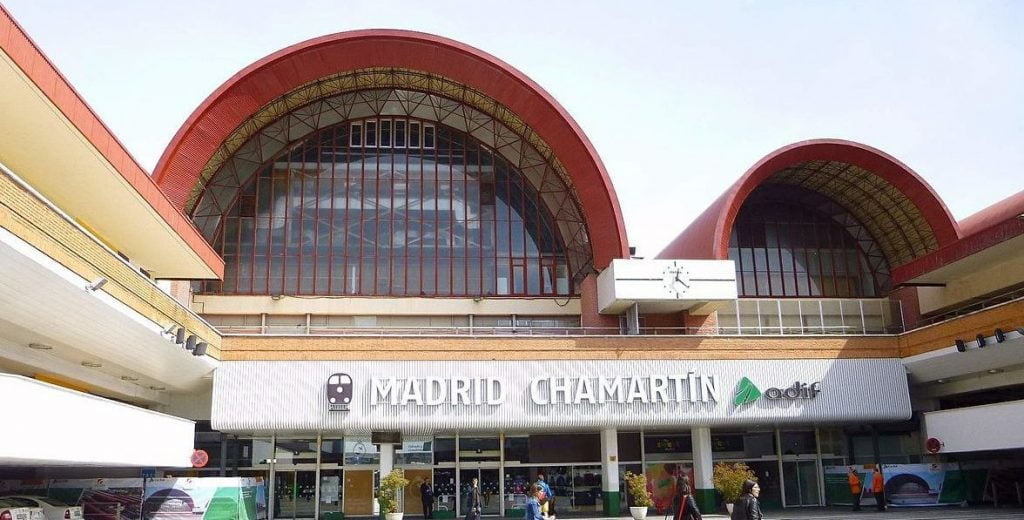 Taxi a Estacion de Chamartin en Madrid