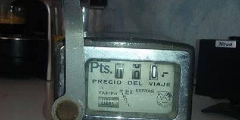 Calcular tarifa taxi Madrid Sierra Noroeste actualizado 2019