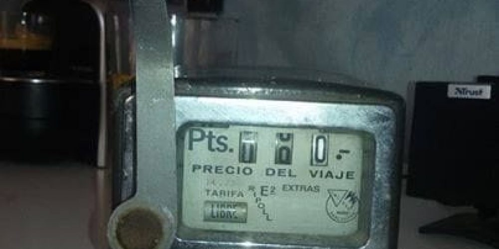 Calcular tarifa taxi Madrid Sierra Noroeste actualizado 2020